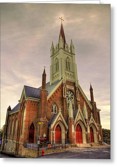 Main Street Greeting Cards - The Gospel Greeting Card by Bryan Steffy