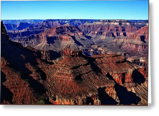 Angel Blues Greeting Cards - The Grand Canyon Arizona Greeting Card by Aidan Moran