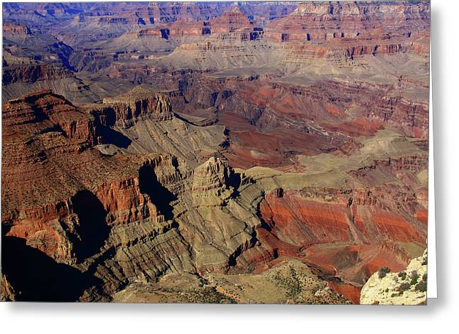 The Grand Canyon, State Of Arizona Greeting Card by Aidan Moran