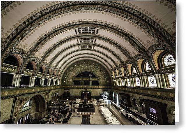 The Grand Hall - Saint Louis Greeting Card by Greg Thiemeyer