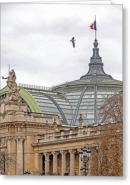 The Vault Greeting Cards - The Grand Palais Greeting Card by Art Block Collections