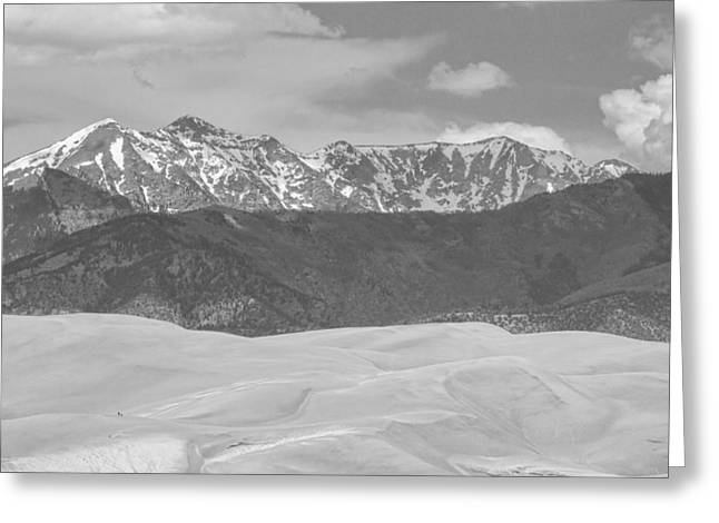The Great Colorado Sand Dunes  Greeting Card by James BO  Insogna