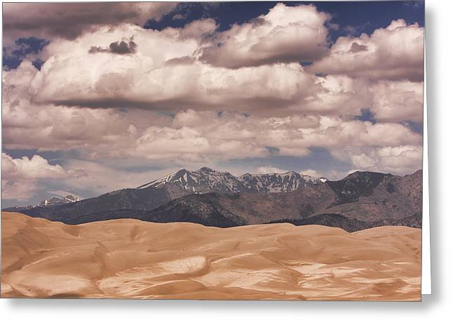 Colorado Sand Dunes Greeting Cards - The Great Sand Dunes 88 Greeting Card by James BO  Insogna