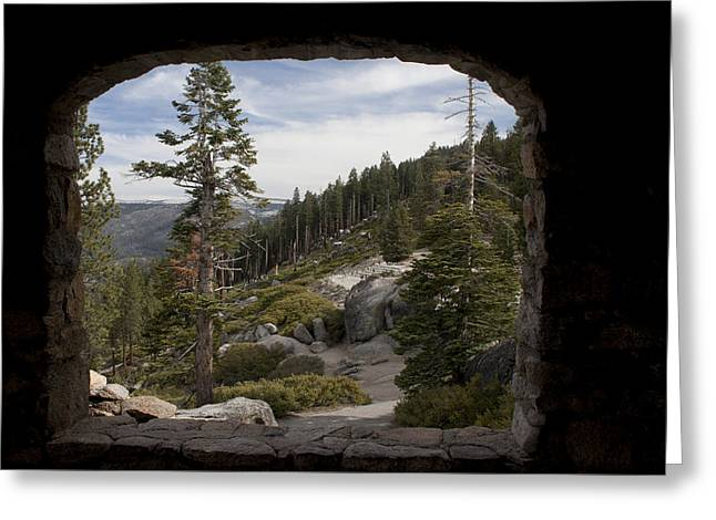 Original Photographs Greeting Cards - The Great View of Yosemite Greeting Card by Ivete Basso Photography