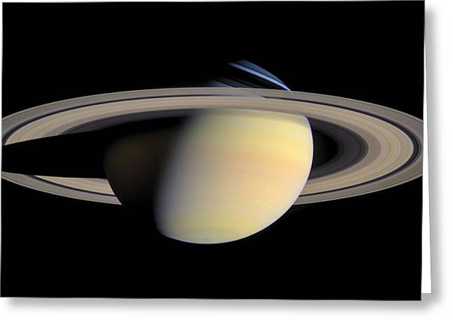 Nasa Greeting Cards - The Greatest Saturn Portrait ...Yet Greeting Card by Space Art Pictures