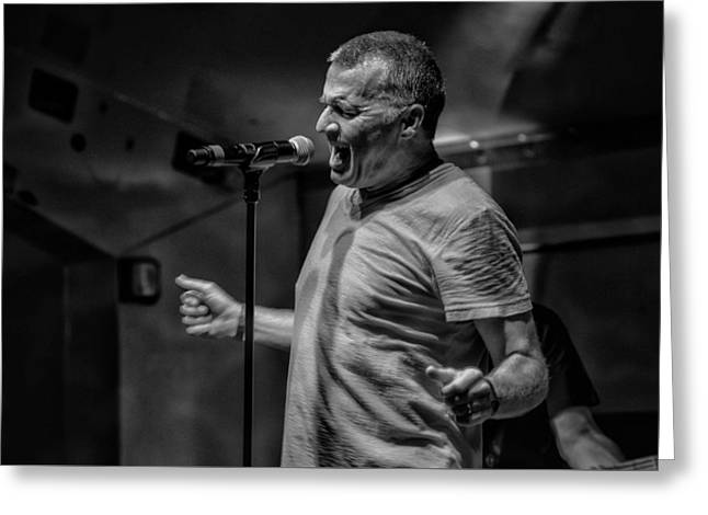 Photo Art Gallery Greeting Cards - The Greg Billings Band Greeting Card by Kevin Cable