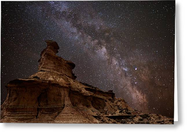 Hitech Greeting Cards - The Guard Of Sky Greeting Card by David Martin Castan
