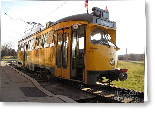 The Hague Streetcar 1329 Greeting Card by Ben Schumin