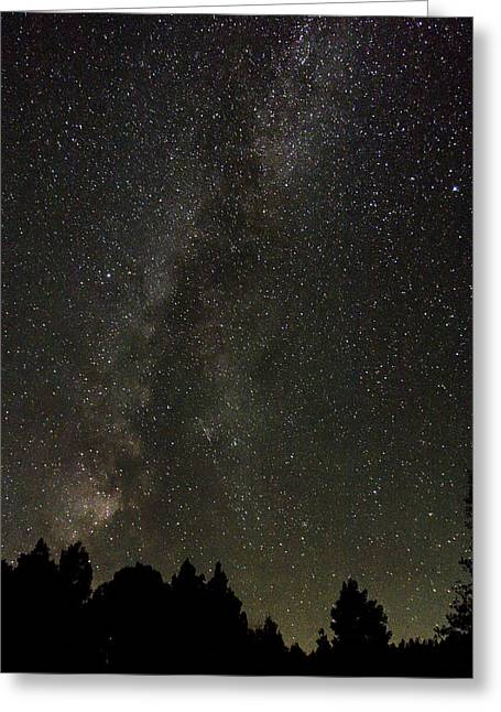Twinkle Greeting Cards - The Heavens Greeting Card by Daren Hill