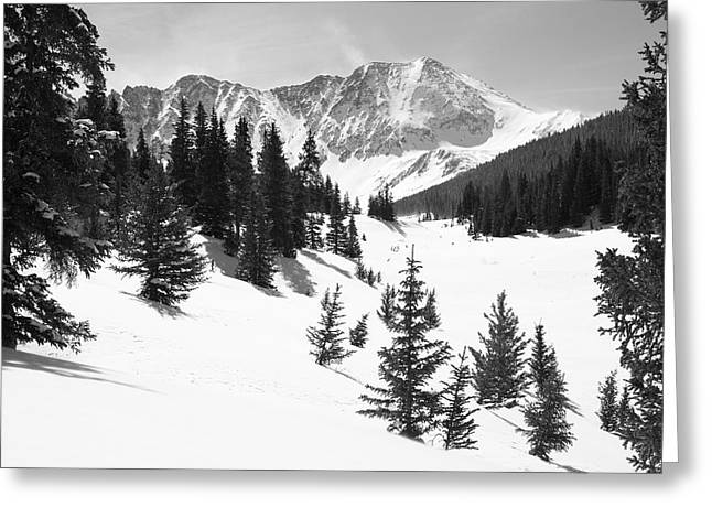 Leadville Greeting Cards - The High Country Greeting Card by Eric Glaser