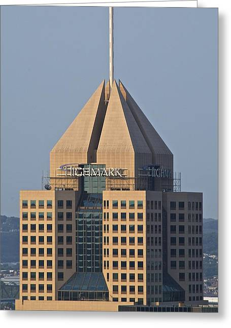 Upmc Greeting Cards - The Highmark Greeting Card by Frozen in Time Fine Art Photography
