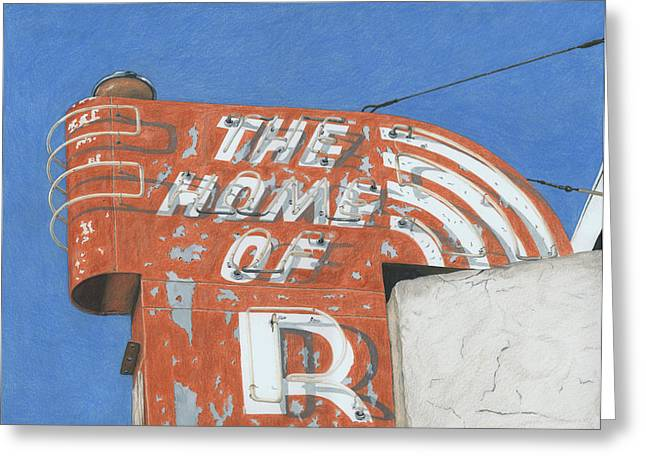 Photorealism Greeting Cards - The Home of R Greeting Card by Rob De Vries
