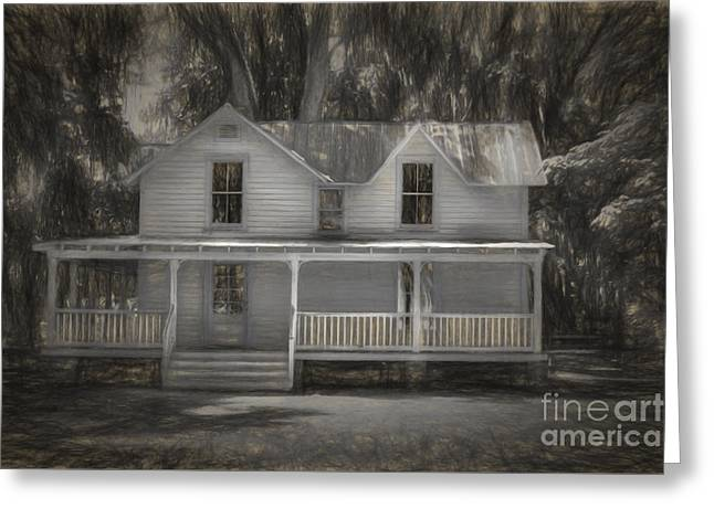 Artistic Photography Greeting Cards - The Homestead Greeting Card by C W Hooper