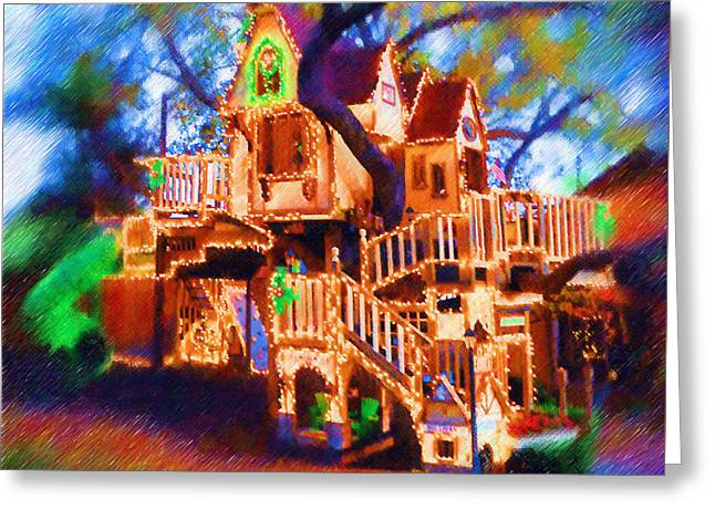Photo Art Gallery Greeting Cards - The House of Captivity Greeting Card by Mario Carini