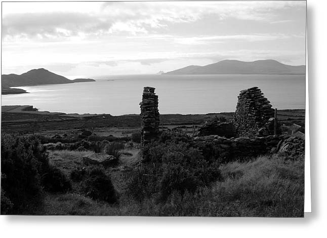 Stone House Greeting Cards - House Of The Piper Greeting Card by Aidan Moran
