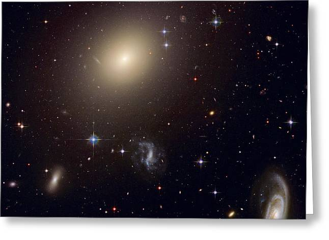 The Hubble Space Telescope Reveals An Greeting Card by ESA and nASA