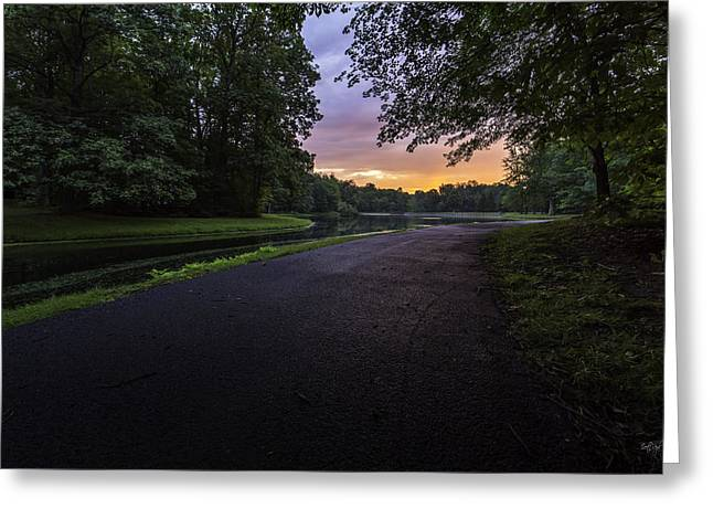 Upstate Greeting Cards - The Hues of Daybreak Greeting Card by Everet Regal