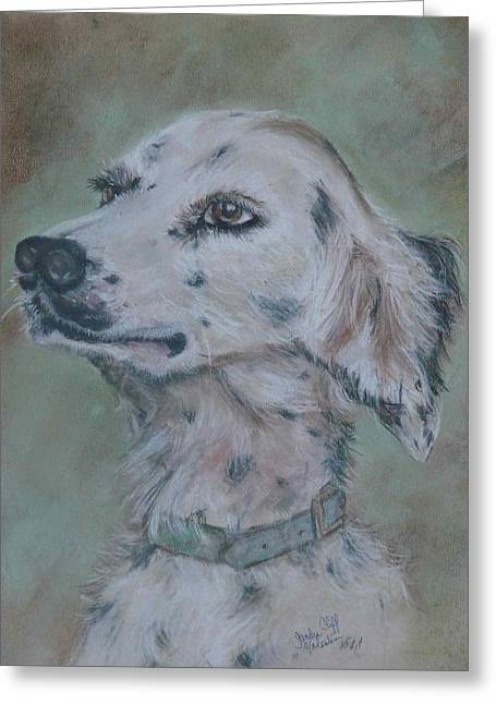 B Pastels Greeting Cards - The Hunter Greeting Card by Sandra Valentini