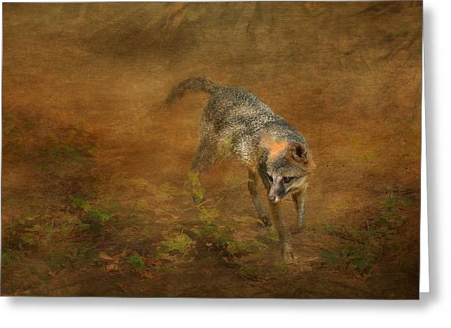 Layer Greeting Cards - The Huntress Greeting Card by Carla Parris