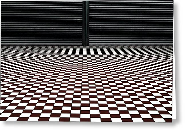 Floors Greeting Cards - The Hypnotic Floor Greeting Card by Gilbert Claes