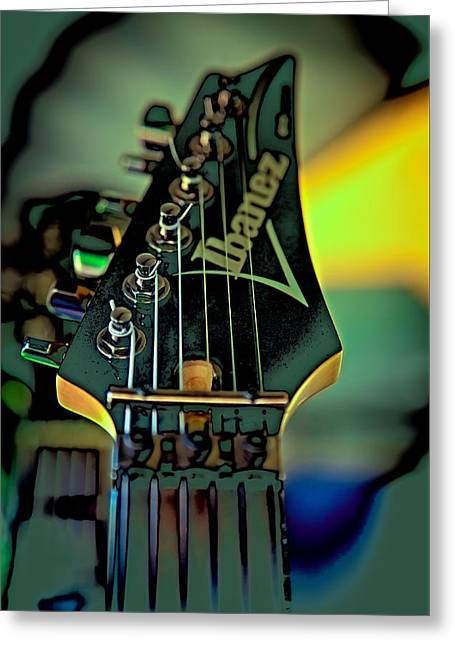 The Kingpins Greeting Cards - The Ibanez Greeting Card by David Patterson