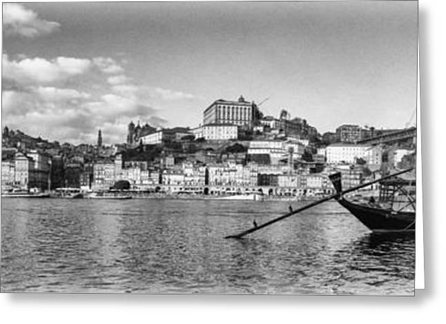 The Iconic Rabelo Boats Greeting Card by Jose Elias - Sofia Pereira