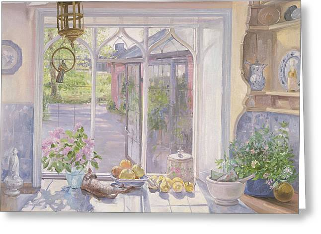 Apple Paintings Greeting Cards - The Ignored Bird Greeting Card by Timothy Easton