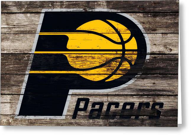 The Indiana Pacers 3e Greeting Card by Brian Reaves