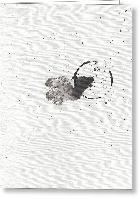 The Inexplicable Ignition Of Time Expanding Into Free Space Phase One Number 18 Greeting Card by Mark M  Mellon