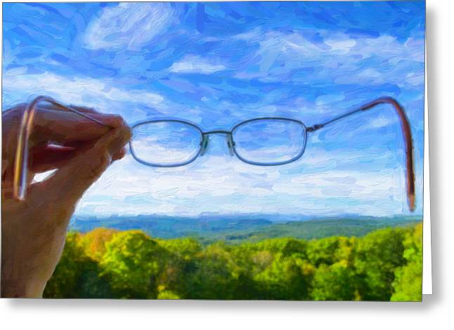 Sight See Greeting Cards - The Invisible Man Greeting Card by Jeff  Gettis