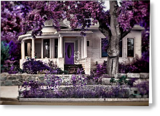 Lilac Flower Greeting Cards - The Invitation Greeting Card by Marcie  Adams