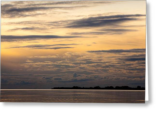 The Island Greeting Card by Konstantin Dikovsky