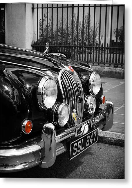 Jaguars Greeting Cards - The Jaguar Greeting Card by Mark Rogan