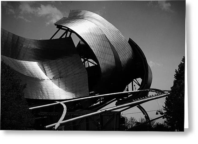 Outdoor Theater Greeting Cards - The Jay Pritzker Pavilion Greeting Card by Ester  Rogers