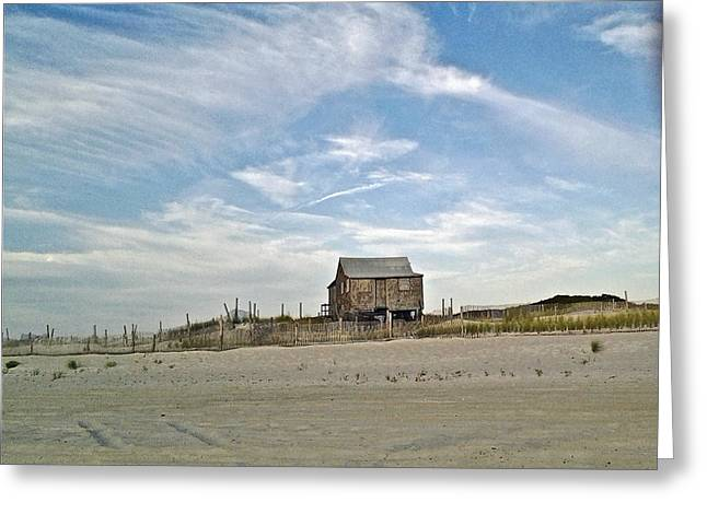 Shack Greeting Cards - The Judges Shack - Island Beach State Park - New Jersey USA Greeting Card by Mother Nature