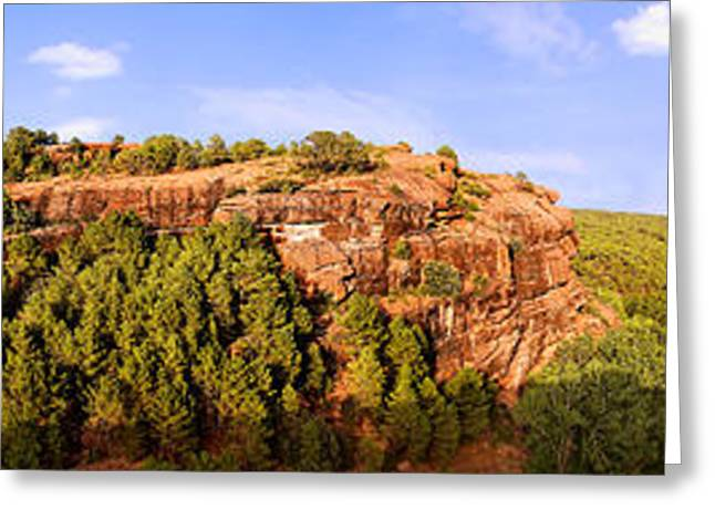 Teruel Greeting Cards - The Jump Greeting Card by Weston Westmoreland
