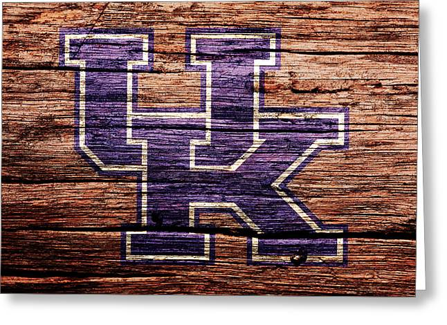 The Kentucky Wildcats 1b Greeting Card by Brian Reaves