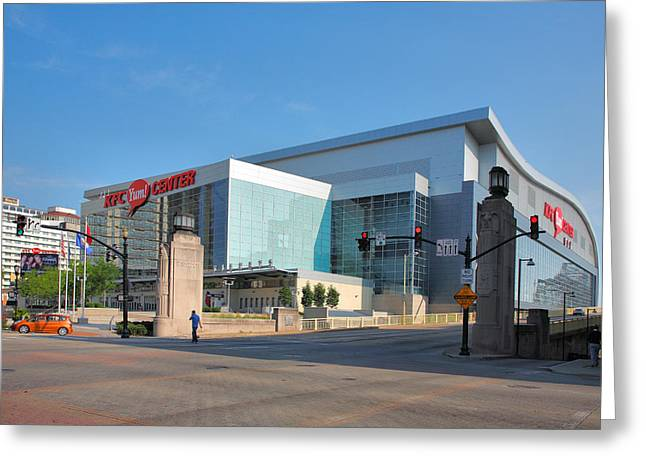 Yum Greeting Cards - The KFC Yum Center III Greeting Card by Steven Ainsworth