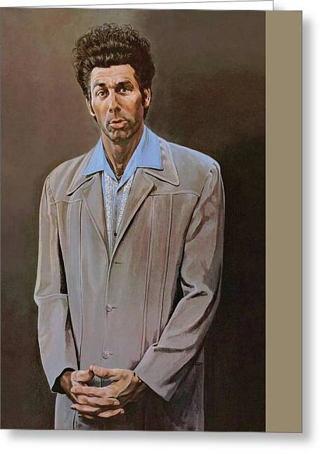 Movie Poster Prints Greeting Cards - The Kramer Portrait  Greeting Card by Movie Poster Prints