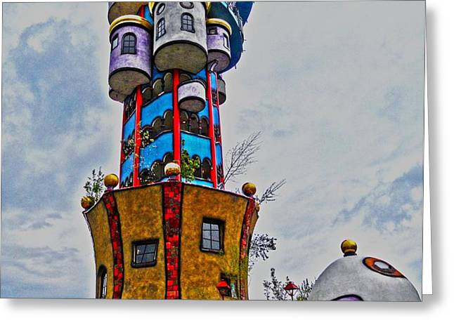 The Kuchlbauer Tower Greeting Card by Juergen Weiss