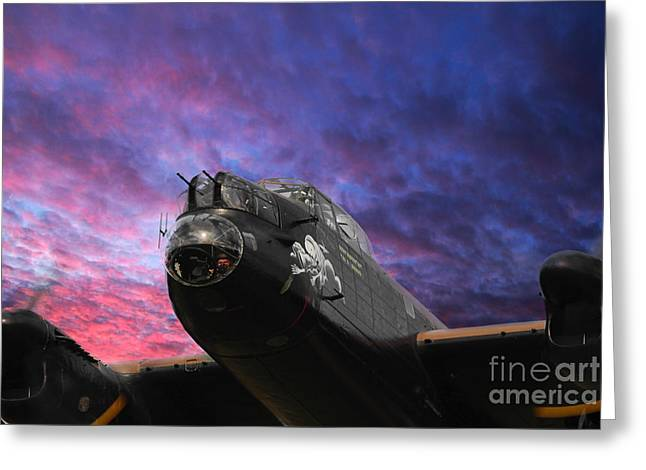 The Lancaster Greeting Card by Stephen Smith