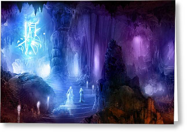 The Language of Dreams Greeting Card by Philip Straub