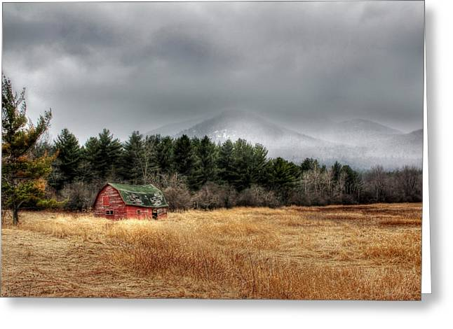 Barn Digital Greeting Cards - The Last Stand Greeting Card by Lori Deiter