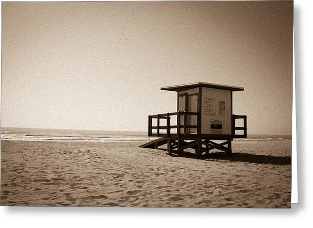 California Beach Greeting Cards - The Last Stand Greeting Card by Neptune