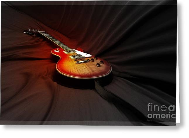 The Les Paul Greeting Card by Steven  Digman