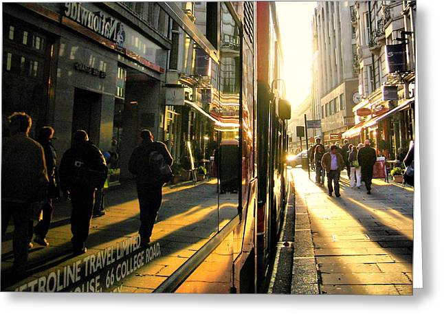 Russ Styles Greeting Cards - The light poured in..... Greeting Card by Russell Styles