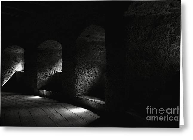 Town Walls Greeting Cards - The Light Through Time Greeting Card by Hideaki Sakurai