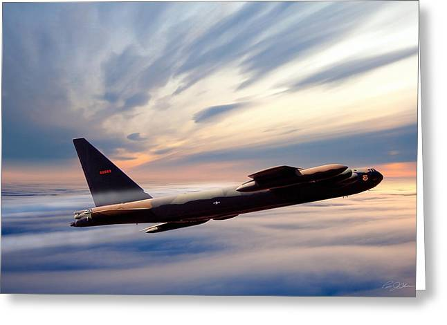 Boeing Greeting Cards - The Long Goodbye Greeting Card by Peter Chilelli