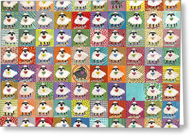 Parable Greeting Cards - The Lost Sheep - Inspired by Luke 15 3-7 Greeting Card by Cindy Head