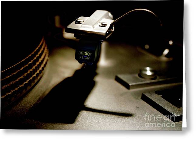 Vintage Music Player Greeting Cards - The Lost Sound Greeting Card by Steven  Digman